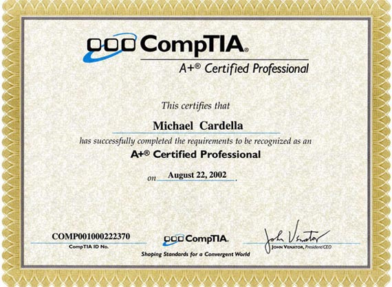 Pin Comptia A Certification On Pinterest